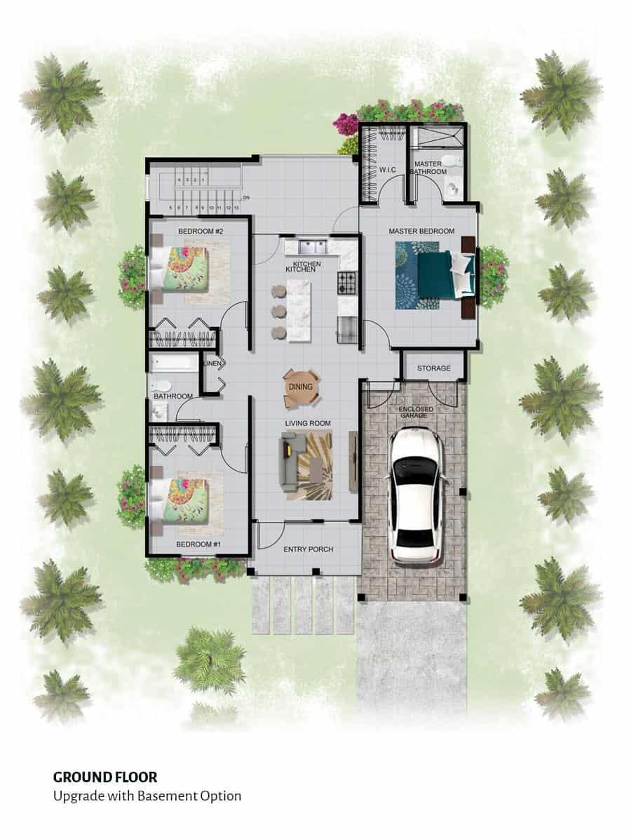 The Diana - Ground Floor | The Gates of Edgehill - Janet Yee Realtor