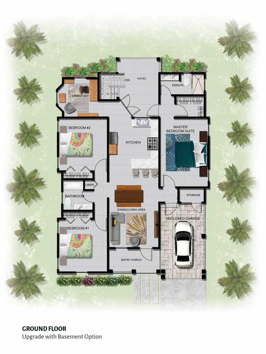 The Elizabeth - Ground Floor | The Gates of Edgehill - Janet Yee Realtor